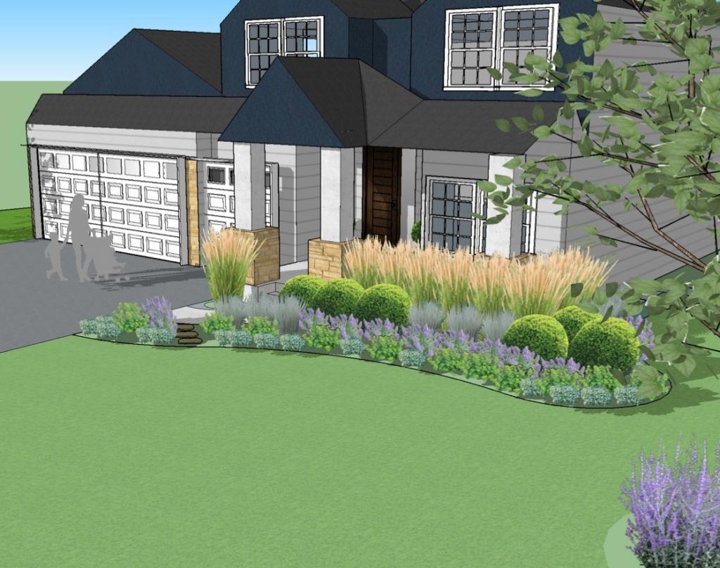 A Blank Canvas Your New Construction Landscape Design racquel